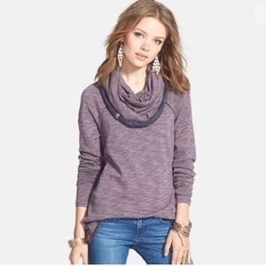Free People | Beach Cocoon Cowl Neck Pullover
